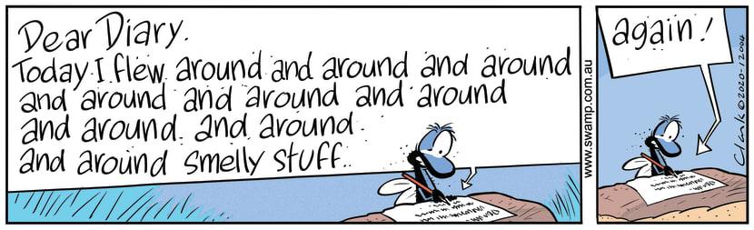Swamp Cartoon - Around and Around by FlyJune 20, 2020