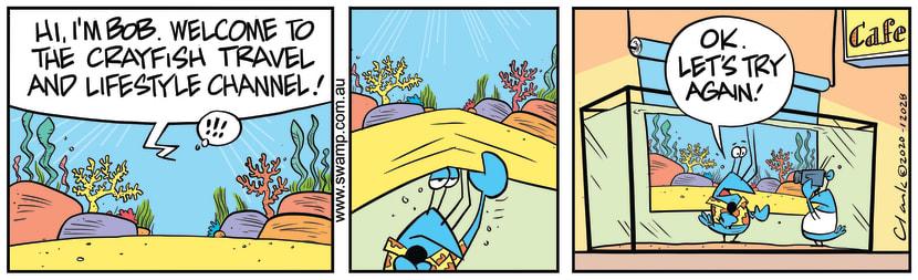 Swamp Cartoon - Bob Crayfish Lifestyle ChannelJuly 18, 2020