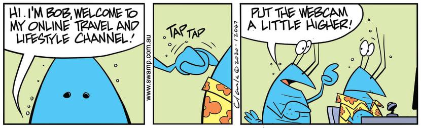 Swamp Cartoon - Bob Crayfish Tap TapAugust 10, 2020