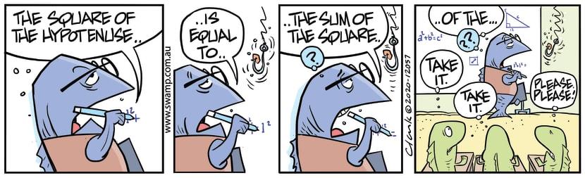 Swamp Cartoon - Just Take the BaitAugust 21, 2020