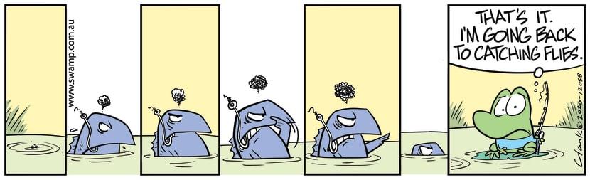Swamp Cartoon - Don't Annoy the FishAugust 22, 2020
