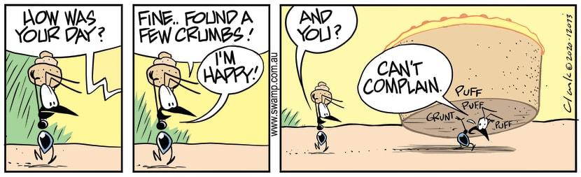 Swamp Cartoon - Ants Fossicking for CrumbsSeptember 9, 2020