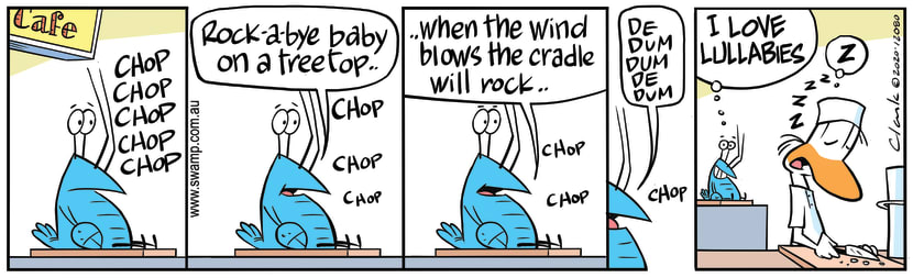 Swamp Cartoon - Bob Crayfish Sings LullabySeptember 17, 2020