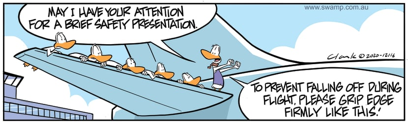 Swamp Cartoon - Brief Safety PresentationOctober 29, 2020