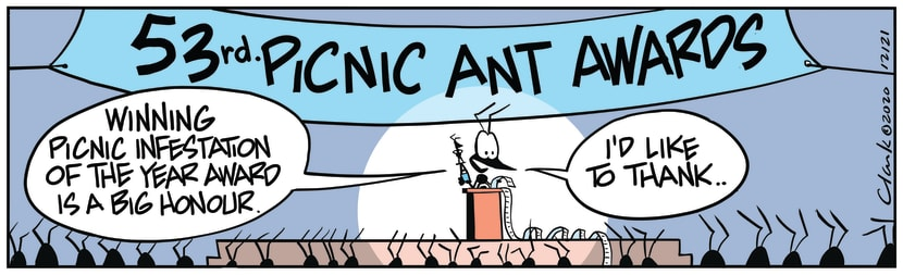 Swamp Cartoon - Annual Picnic Ant AwardsNovember 4, 2020