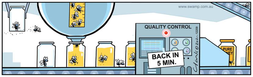 Swamp Cartoon - Factory Quality ControlFebruary 23, 2021