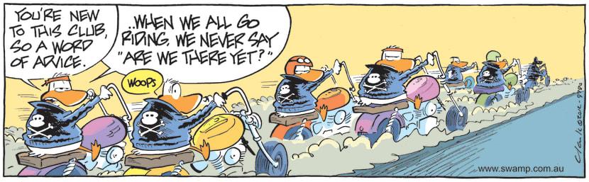 Swamp Cartoon - Wild Duck Gives AdviceJune 8, 2021