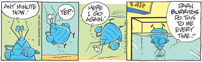 Swamp Cartoon - Bob Crayfish Becomes FloaterJune 16, 2021
