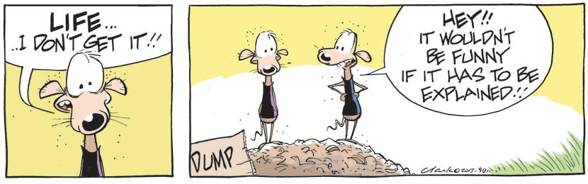Swamp Cartoon - Chives Rat discusses meaningJune 22, 2021