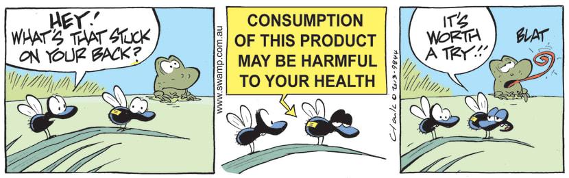 Swamp Cartoon - Avoid Being EatenJuly 5, 2021