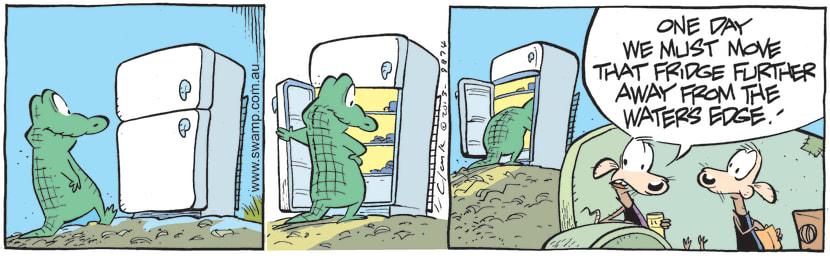 Swamp Cartoon - Old Man Croc is HungryJuly 19, 2021