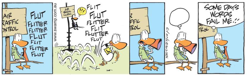 Swamp Cartoon - Air Traffic Controller was left speechlessJuly 31, 2021