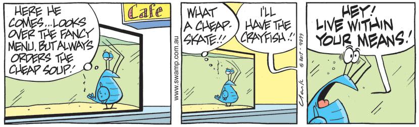 Swamp Cartoon - Bob Crayfish is DisgustedAugust 3, 2021