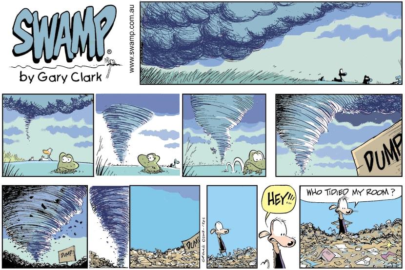 Swamp Cartoon - Cheese Rat is BewilderedAugust 15, 2021