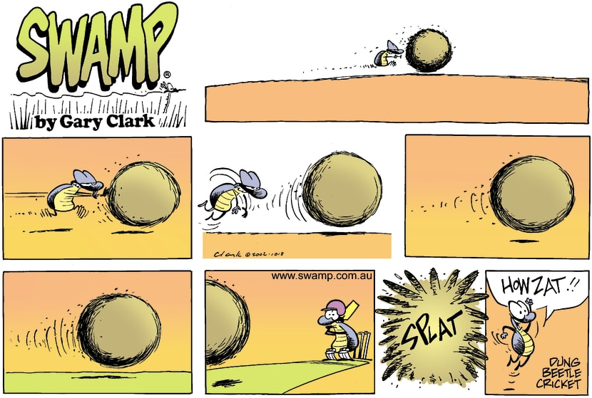 Swamp Cartoon - Dung StyleDecember 8, 2002
