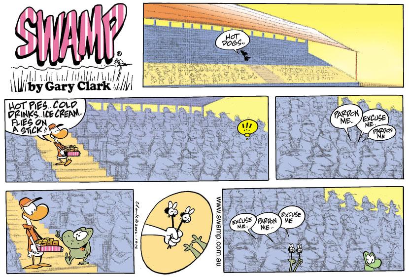 Swamp Cartoon - StadiumDecember 15, 2002