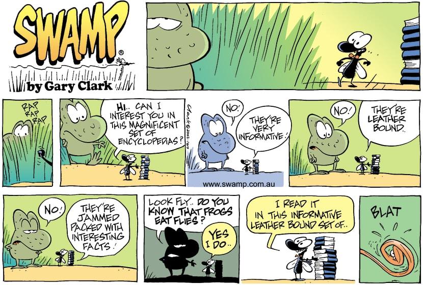 Swamp Cartoon - EncyclopediaJanuary 5, 2003
