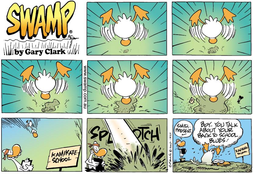 Swamp Cartoon - KamikazeeFebruary 16, 2003