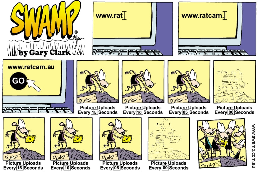 Swamp Cartoon - www.ratcam.comApril 6, 2003