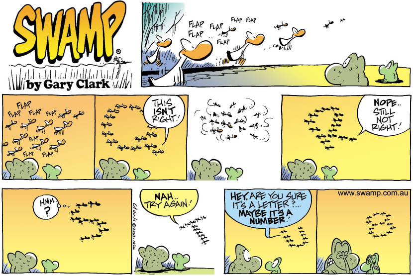 Swamp Cartoon - VMay 4, 2003