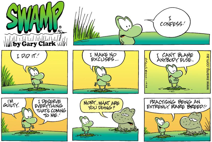 Swamp Cartoon - GuiltyMay 18, 2003
