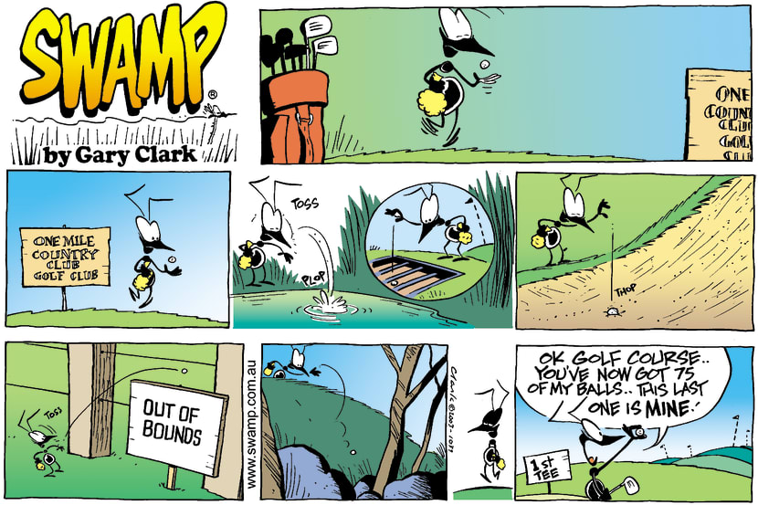 Swamp Cartoon - Country ClubJune 8, 2003