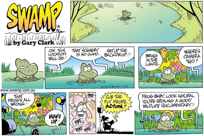 Swamp Cartoon - DocumentaryJuly 13, 2003