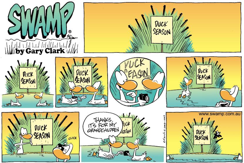 Swamp Cartoon - Snap ShotAugust 17, 2003