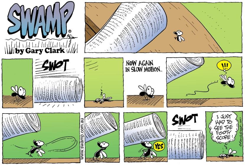 Swamp Cartoon - SwotOctober 19, 2003