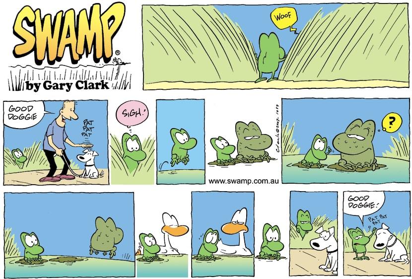 Swamp Cartoon - Good DoggieOctober 26, 2003