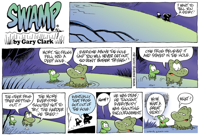 Swamp Cartoon - StoryNovember 30, 2003