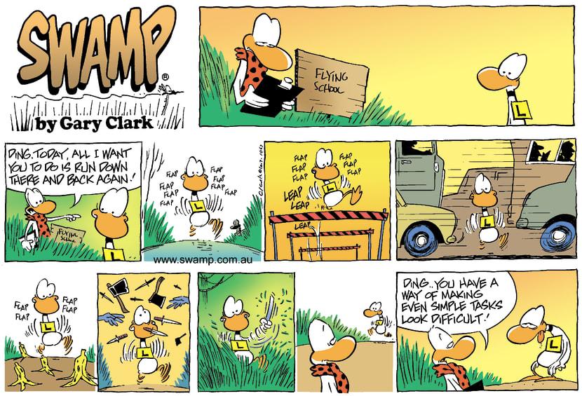 Swamp Cartoon - RunDecember 21, 2003