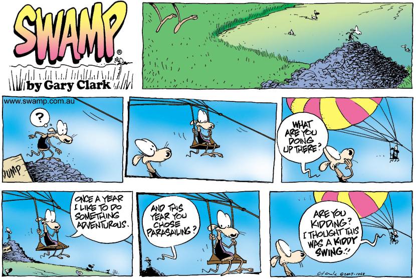 Swamp Cartoon - AdventureDecember 28, 2003