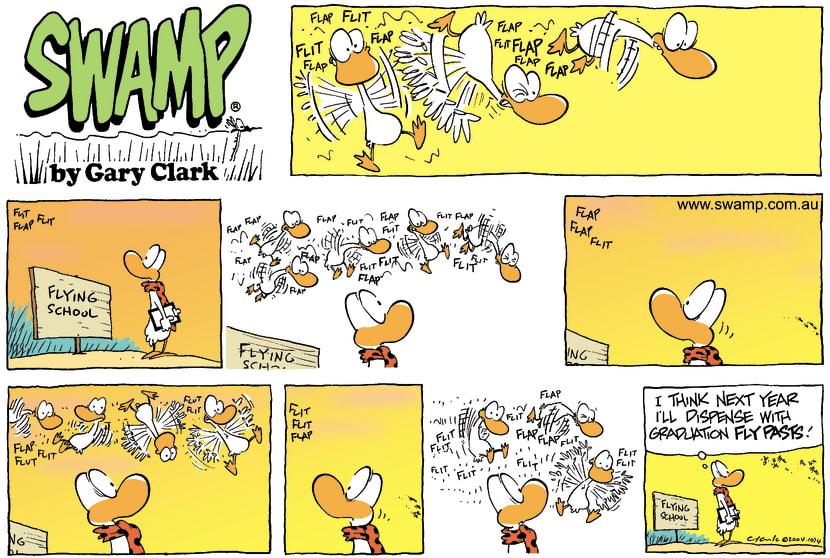 Swamp Cartoon - Final FlyFebruary 8, 2004
