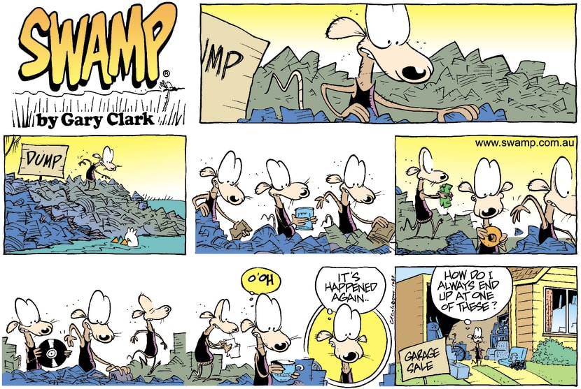 Swamp Cartoon - JunkApril 11, 2004