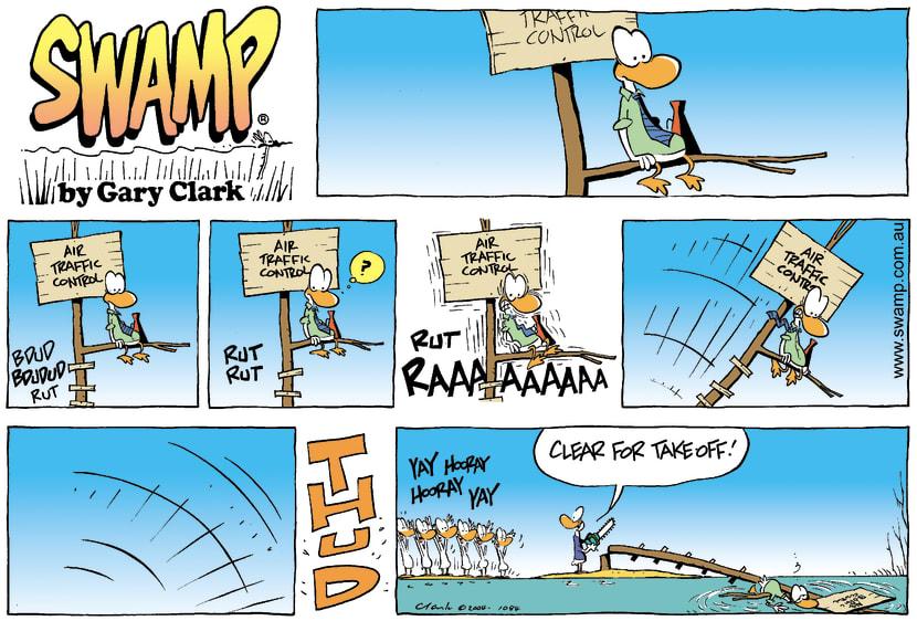Swamp Cartoon - RemovedApril 18, 2004