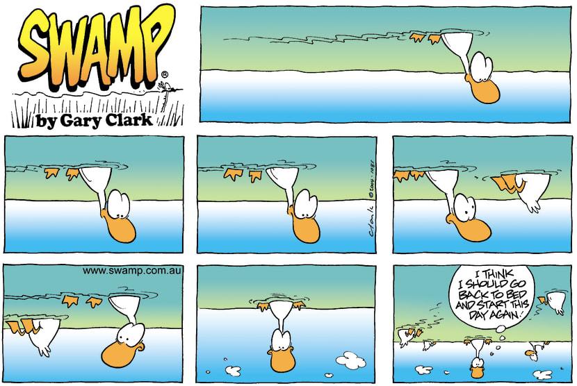 Swamp Cartoon - Wrong SideApril 25, 2004