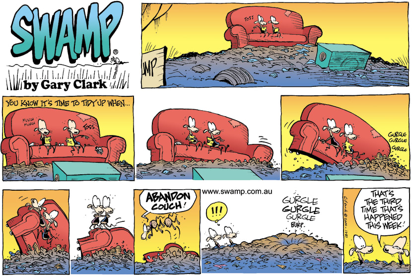 Swamp Cartoon - Sunken LoungeMay 9, 2004