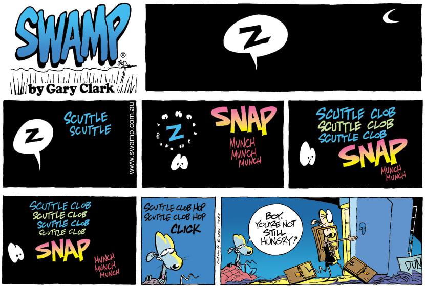 Swamp Cartoon - SnapMay 16, 2004