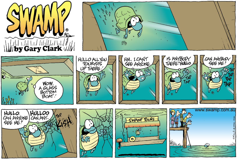 Swamp Cartoon - Glass BoatMay 30, 2004