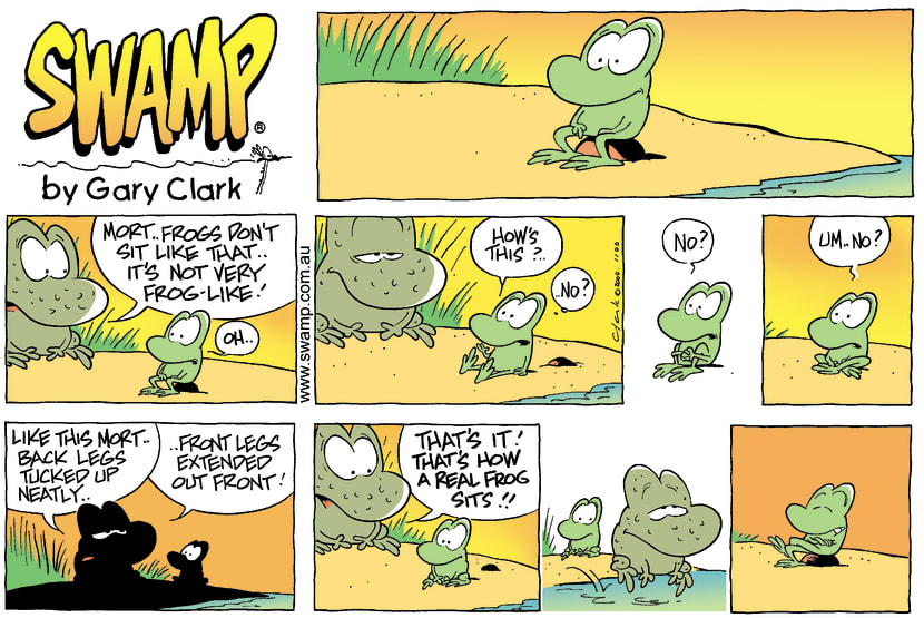 Swamp Cartoon - SitAugust 8, 2004