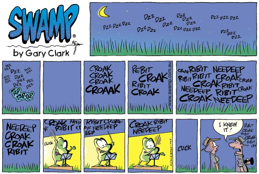 Swamp Cartoon - Night soundsAugust 29, 2004