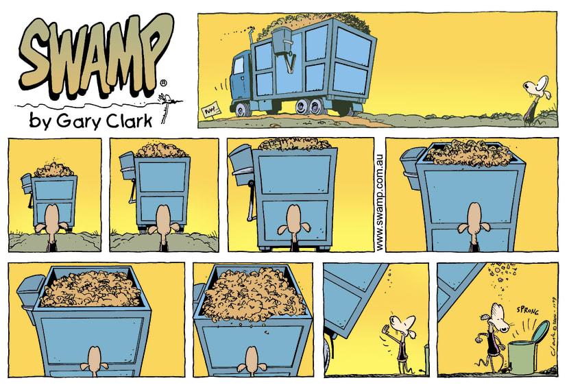 Swamp Cartoon - Home deliveryOctober 10, 2004
