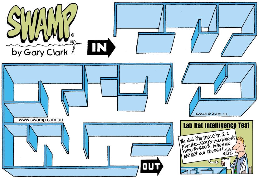 Swamp Cartoon - That is amazing.October 31, 2004