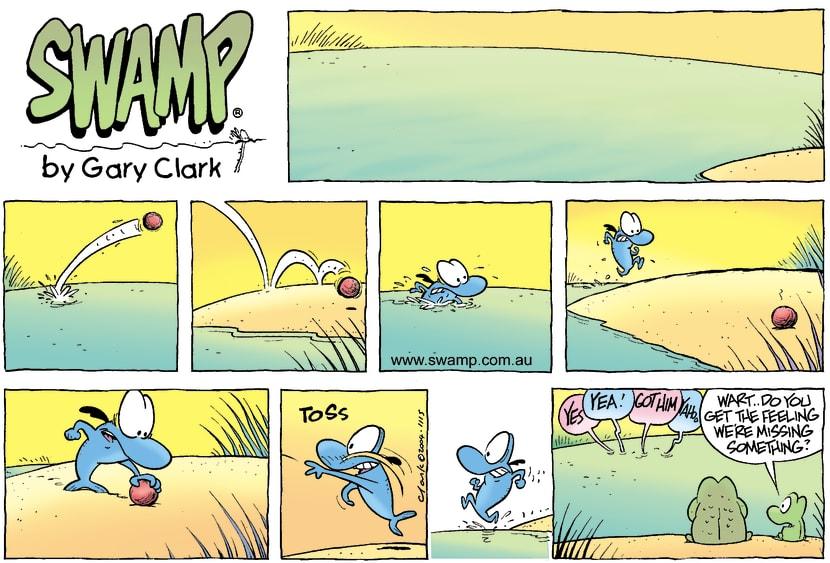 Swamp Cartoon - The Fishy GameNovember 21, 2004