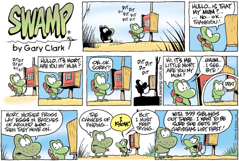 Swamp Cartoon - The ListNovember 28, 2004