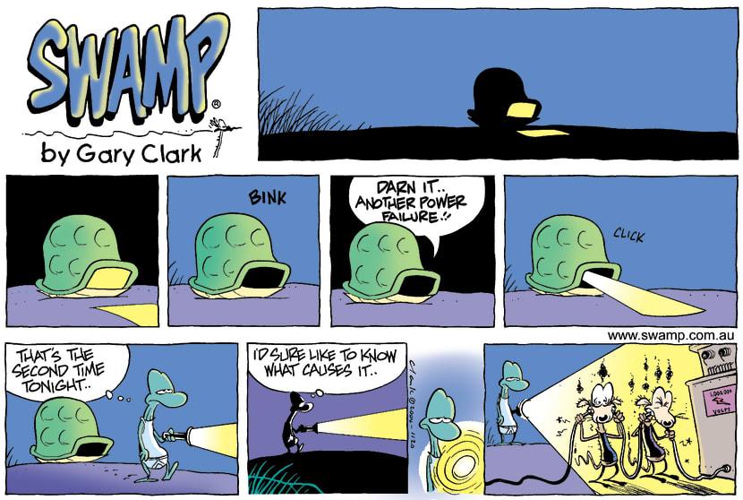 Swamp Cartoon - Night TaleDecember 26, 2004