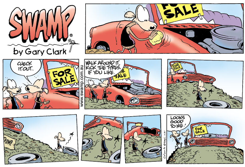 Swamp Cartoon - Hot DealMarch 13, 2005