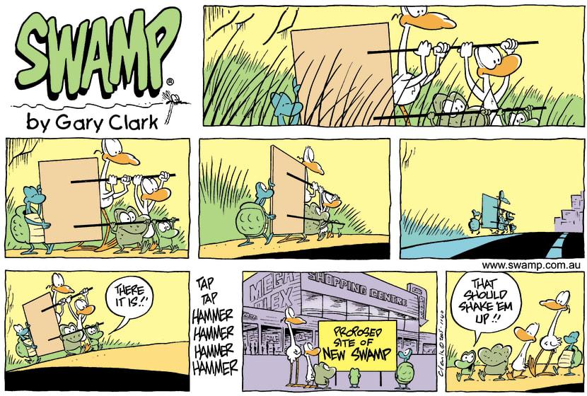 Swamp Cartoon - Enviromentally UnfriendlyMay 15, 2005