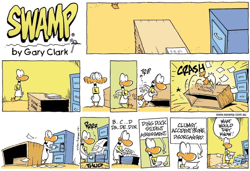 Swamp Cartoon - Dings ReportMay 22, 2005